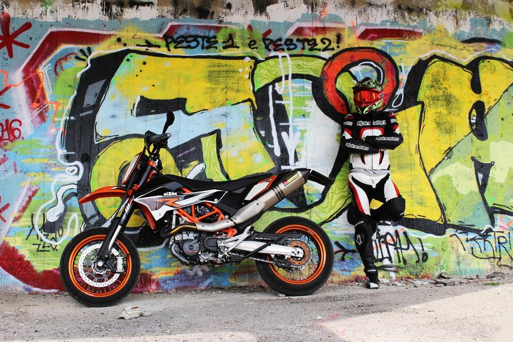 déco moto